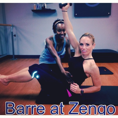 Barre with Chauna