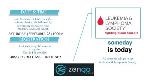 Zengo fundraiser